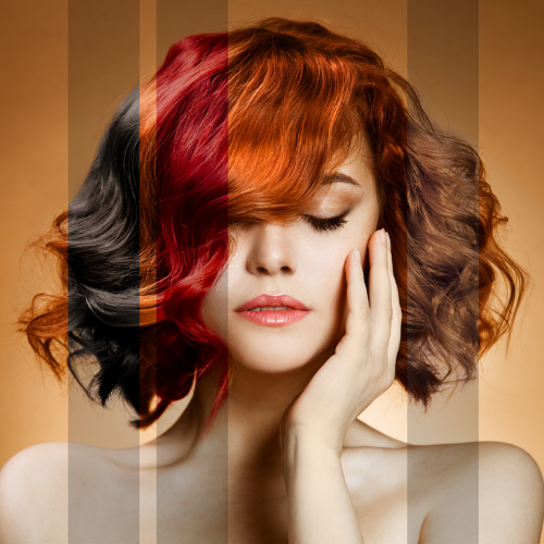 Hair colouring Services & Treatments at hush Albir