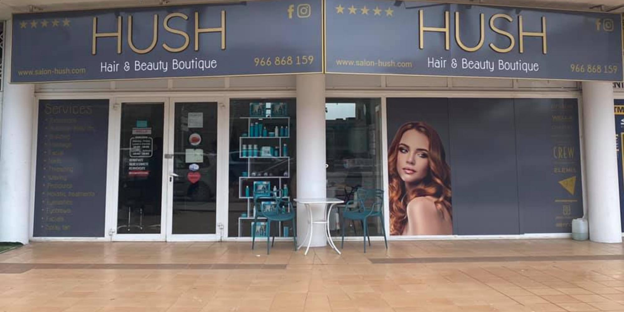 hush salon Albir