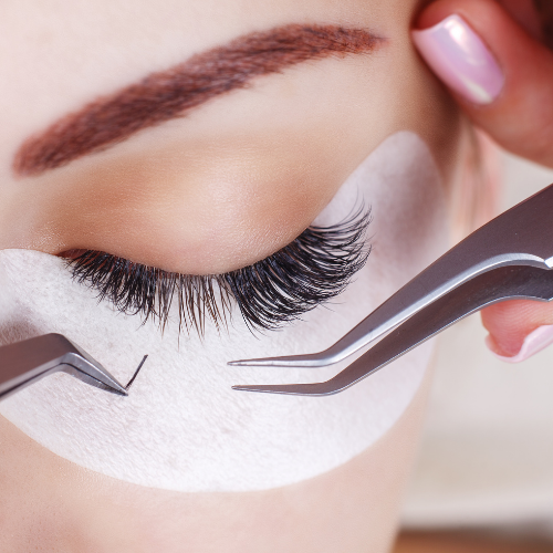 Eyelash extensions HUSH